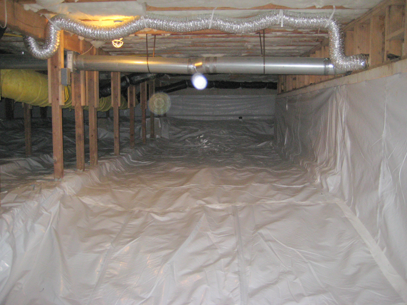 Crawl Space Encapsulation Permadry Waterproofing Services