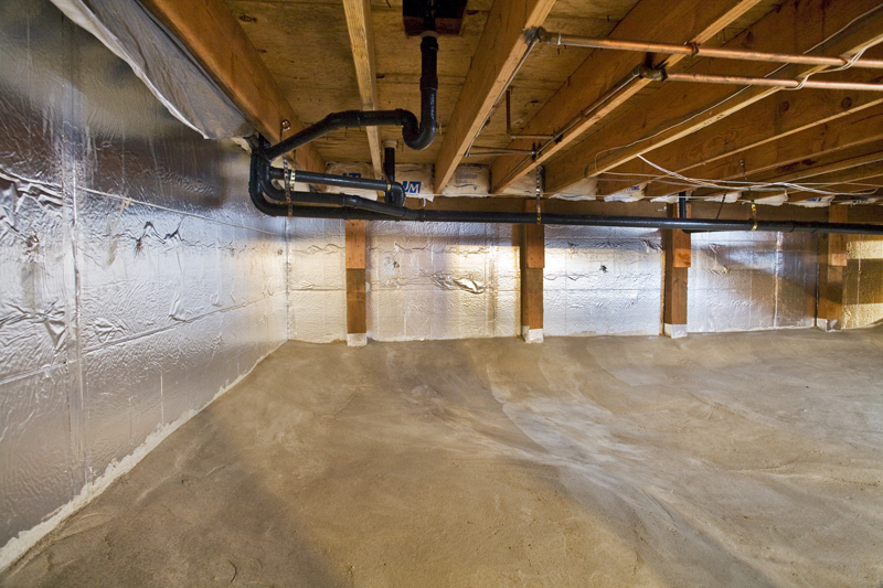 Permadry Waterproofing Crawl Space Vapor Barrier
