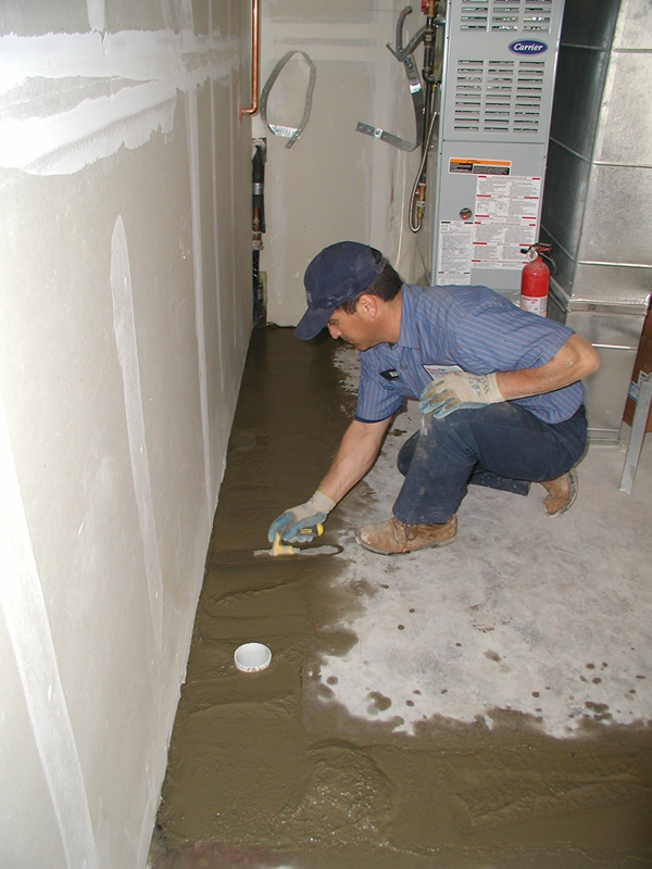 Gallery for Basement concrete cleaner