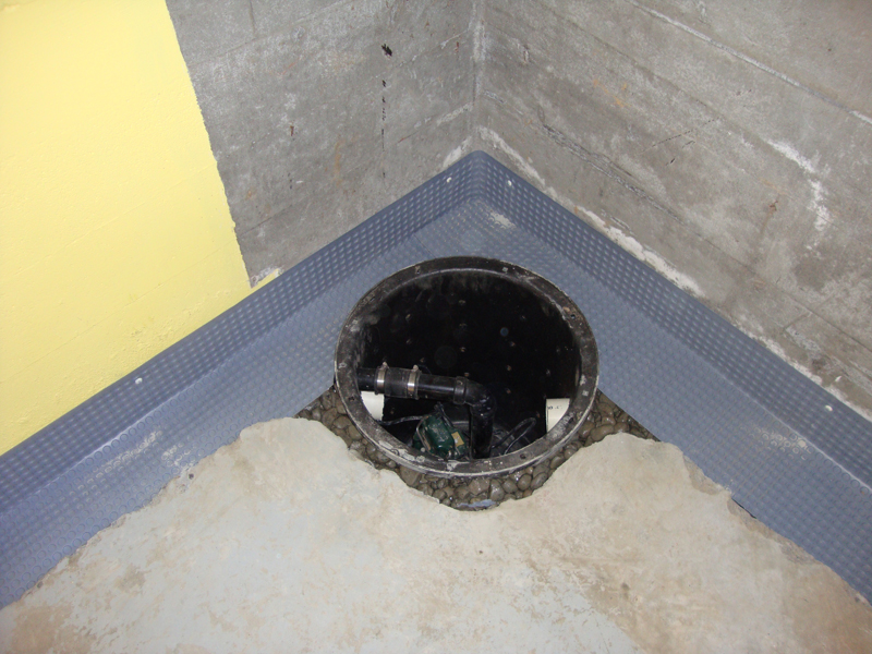 Gallery for Sump pump yard drainage systems